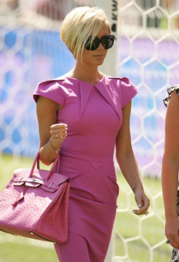 Victoria sa pink torbom 3 Sve torbe: Victoria Beckham