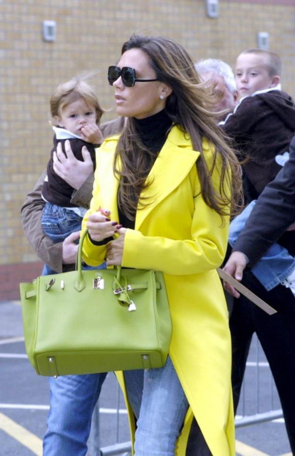 Victoria sa zelenom Hermes 5 Sve torbe: Victoria Beckham