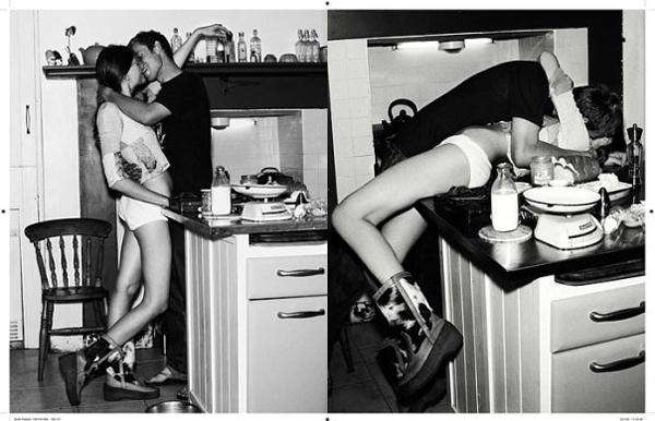 couple kiss kitchen love making out favim com 64279 Seks na eks: Seks iz narodne kuhinje (1. deo)