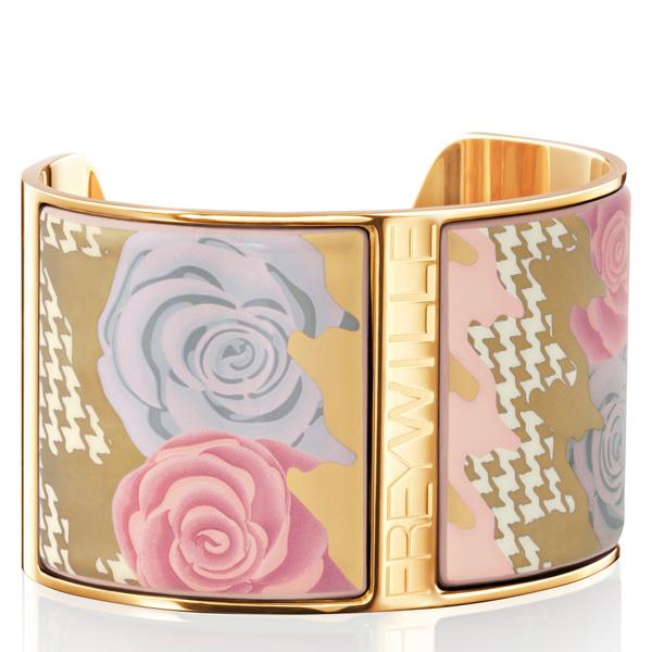 freywille kollektion floral symphony design pepita rose pastel bracelet manchette aphrodite Freywille: Pepita Rose Pastel