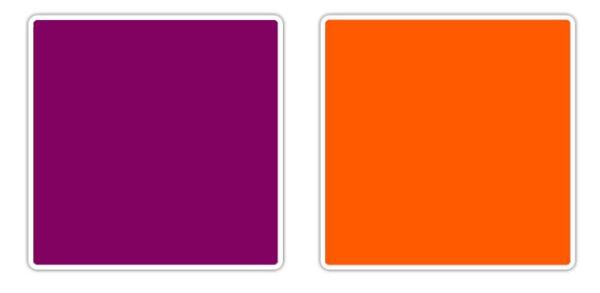 ljubicasta narandzasta 10 novih kombinacija boja koje obožavamo