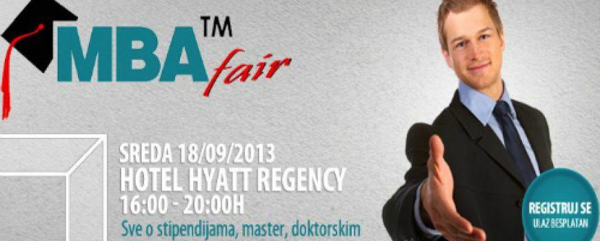 MBA Fair 2013: Septembar je mesec kada proaktivni odlučuju o svojoj budućnosti!