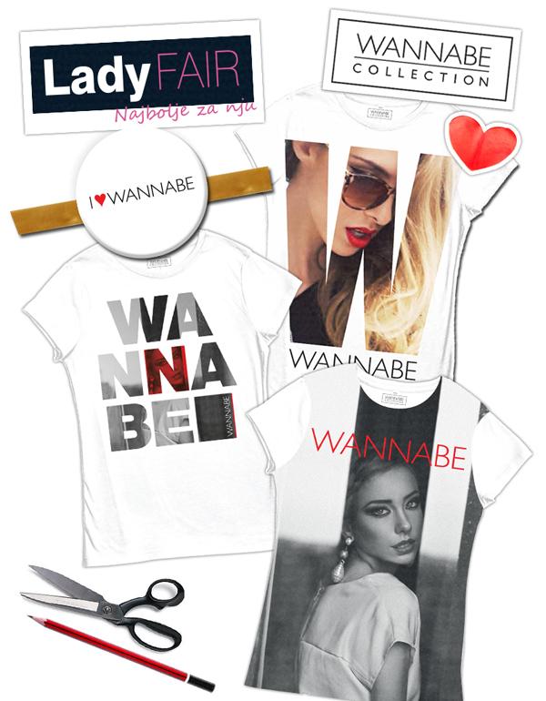 najava wannabe collection rad2 Wannabe Magazine na Lady Fair u