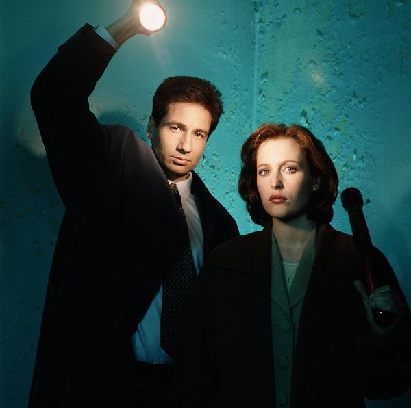 "slika 3 x files fox mulder and dana scully Serija četvrtkom: ""The X Files"""