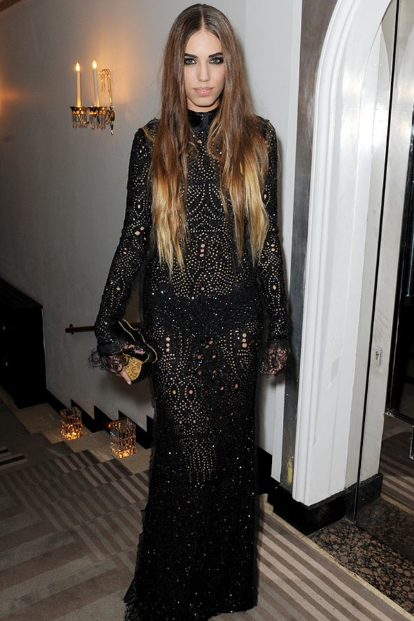 slika111 Modni stil Amber le Bon: Spoj rokenrola i visoke mode