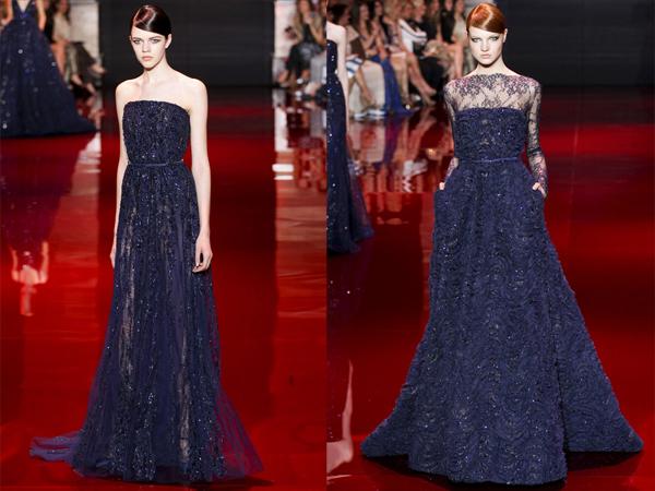 slika2 teget haljine Jesen na modnim pistama: Elie Saab