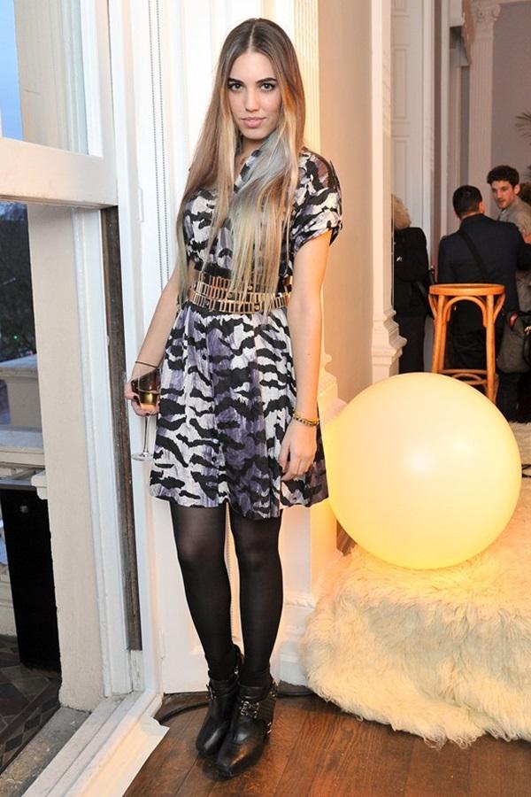slika4 Modni stil Amber le Bon: Spoj rokenrola i visoke mode