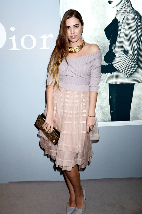 slika61 Modni stil Amber le Bon: Spoj rokenrola i visoke mode