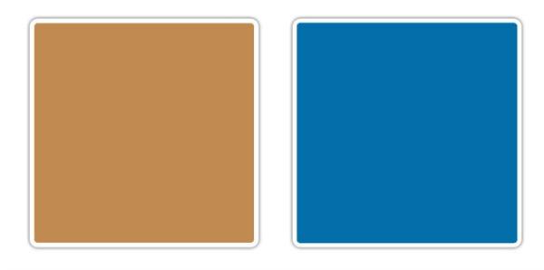 svetlo braon plava 10 novih kombinacija boja koje obožavamo