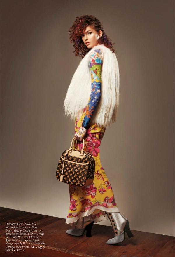 �jpg Black Magazine: Gabby Dover kao modno platno