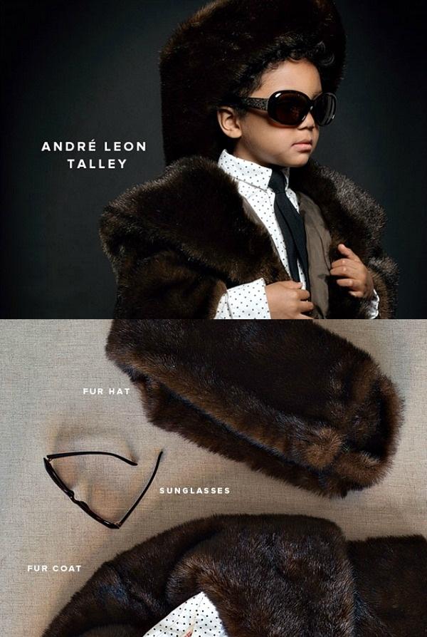 03 Mali Andre Leon Talej + kostim Deca u kostimima modnih stručnjaka za Noć veštica