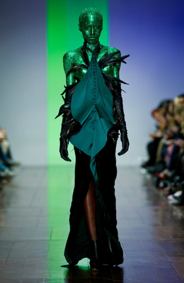 3 Fyodor Golan nedelja mode London Najbizarnije modne kreacije