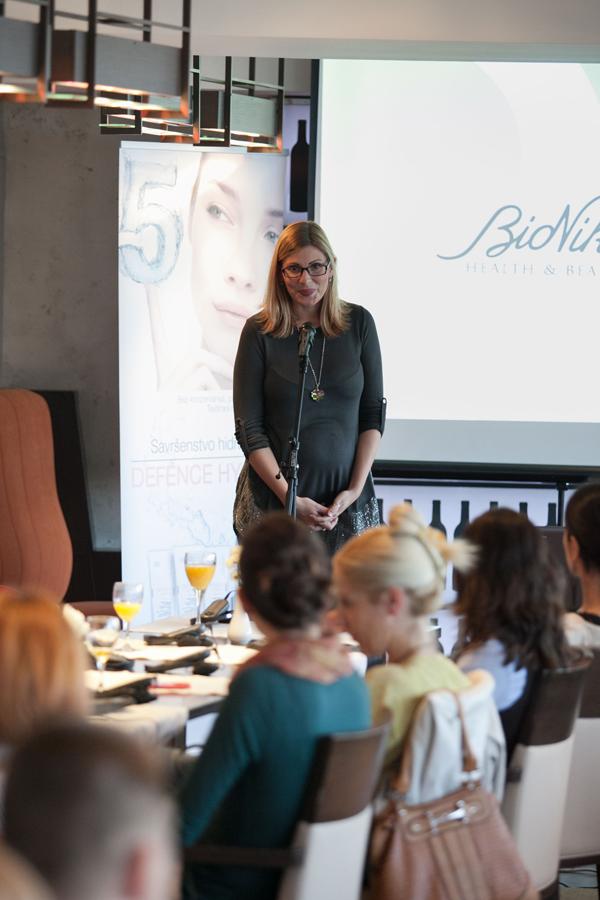 Arijana Skoric Keprom Predstavljena nova linija kozmetike   BioNike