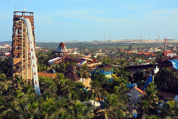 Beach Park Brazil Najluđi tobogani na svetu