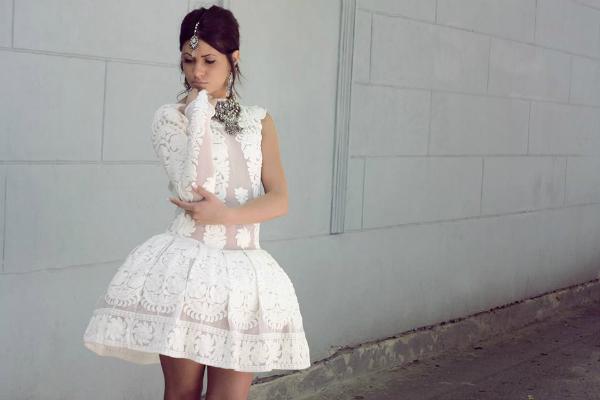 Bela haljina druga slika Wannabe intervju: Nina Rajak