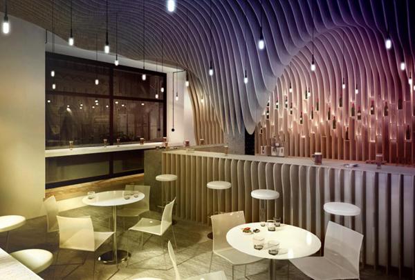 Beli namestaj i drveni zidovi Kafenisanje po planeti: Deset najboljih kuća kafe