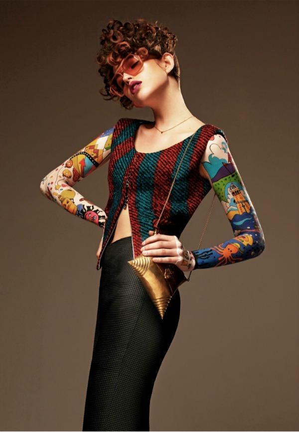 Cara Mia Vintage Black Magazine: Gabby Dover kao modno platno