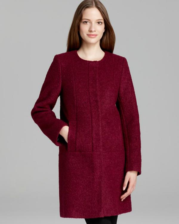 Crveno Modne nedoumice: Haljina ili kaput?