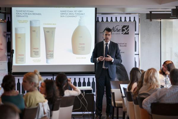 Dr. William Scott Agostini BioNike Predstavljena nova linija kozmetike   BioNike