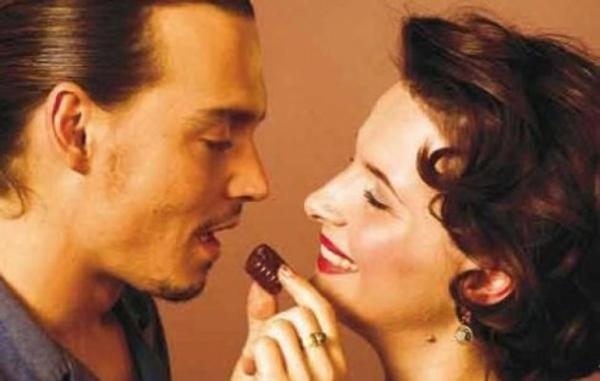 Dzoni dep i zilijet binos Filmska ostvarenja inspirisana čokoladom