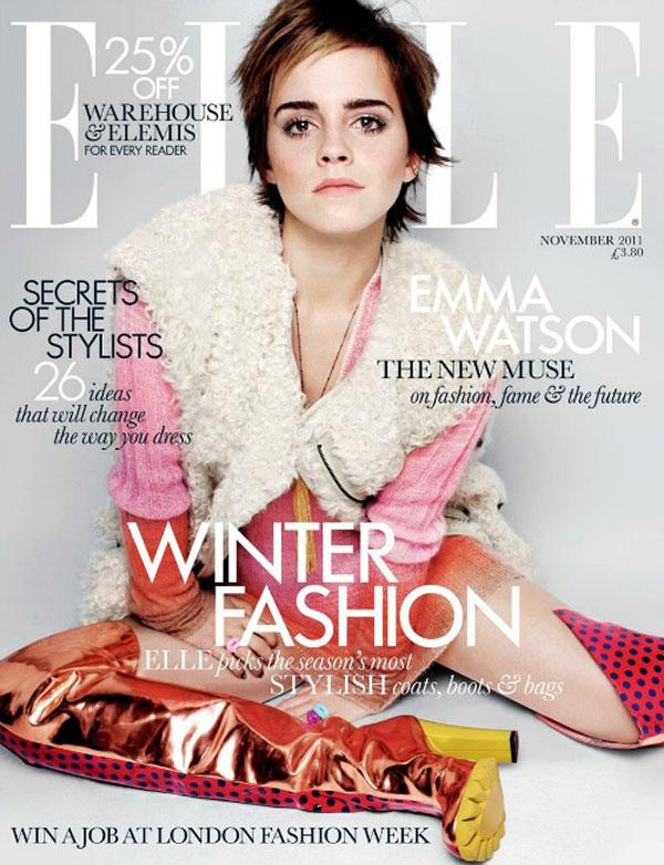 Emma Watson naslovna 11 Moda na naslovnici: Emma Watson nova filmska i modna muza