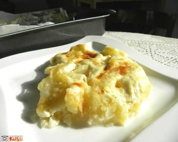 Gotovo jelo sa krompirom Kraljevski krompir