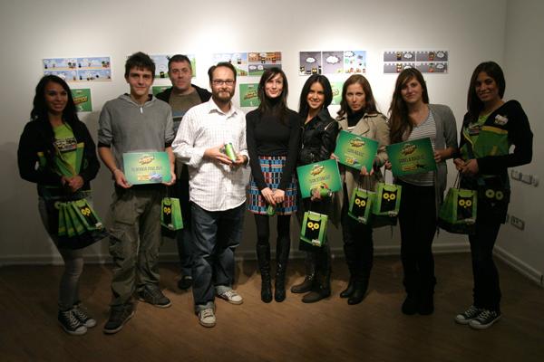 Guarana strip Dobirnici glavnih nagrada sa Aleskom Gajic i Milenom Markovic Izložba Guarana stripa