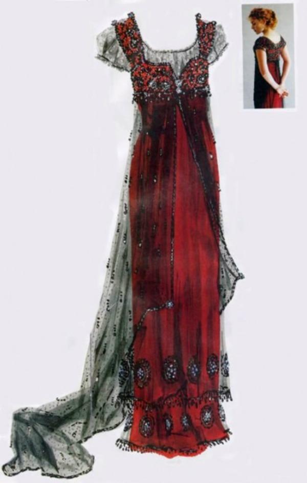 Haljina Kejt Vinslet SL2 Moda na filmu: Kate Winslet, autfit iz Titanika