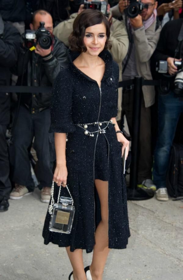 I opet neodoljiva Miroslava Duma i Sanel broj 5 tasnica u obliku parfema Nedelja mode u Parizu: Deset tašni poznatih ličnosti