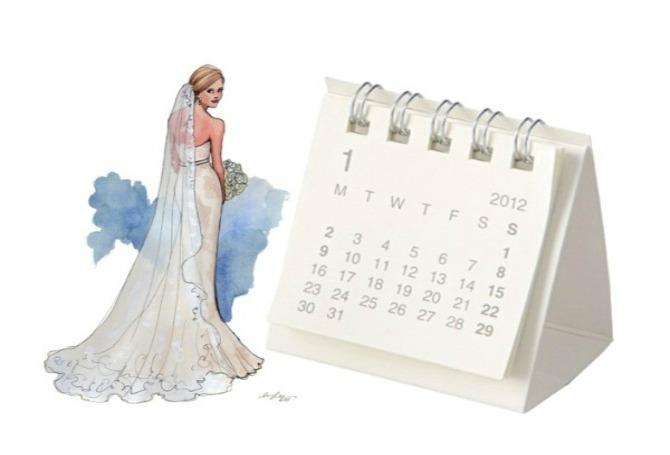 Kalendar Wannabe Bride: Kako izabrati datum?