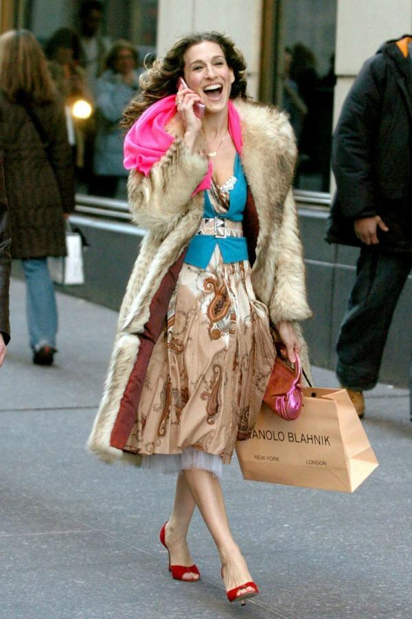 Keri Bredso Seks i grad Moda na filmu: Sarah Jessica Parker u krpicama Carrie Bradshaw