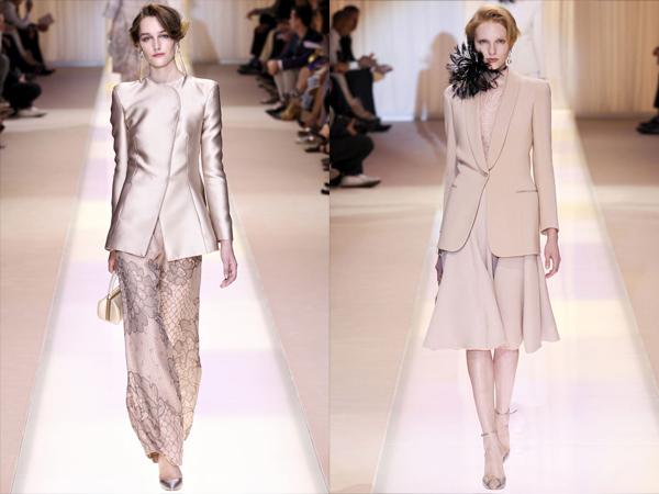Kompleti pastelnih boja slika1 Jesen na modnim pistama: Armani Prive