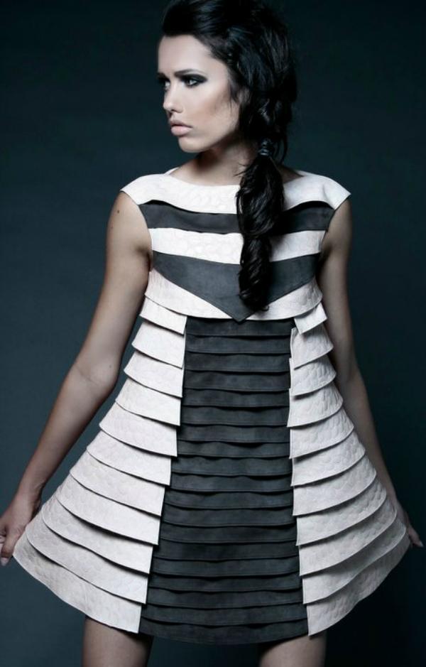 Kratka roze crna haljina Wannabe intervju: Nina Rajak