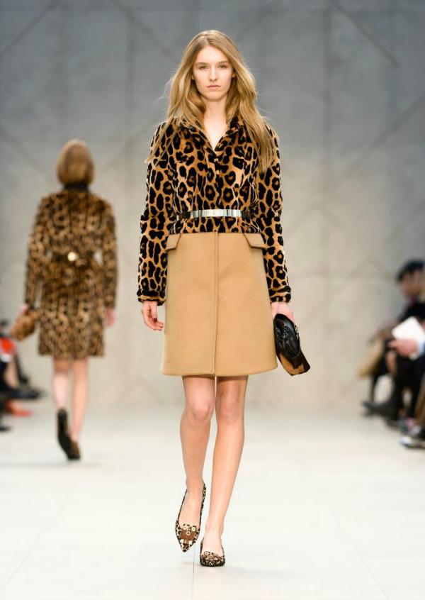 Leopard print Burberry Prorsum: Neprevaziđeni trenč