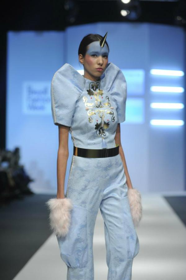 Ljubinkovic plavo2 34. Perwoll Fashion Week: Ana Ljubinković