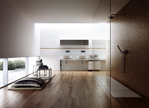 Minimalist bathroom 700x505 Dizajnerska remek dela: Kupatilo i(li) spa
