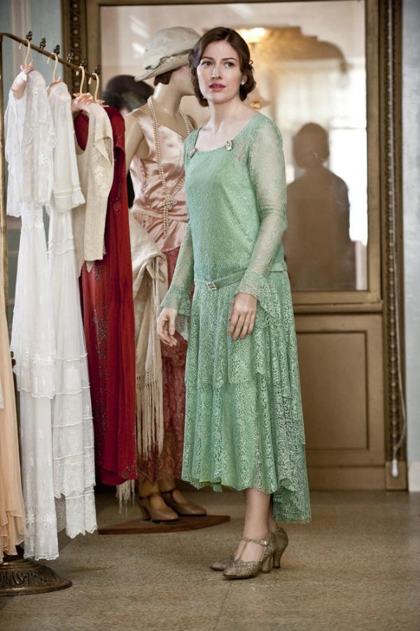 Mint haljina Moda u seriji Boardwalk Empire