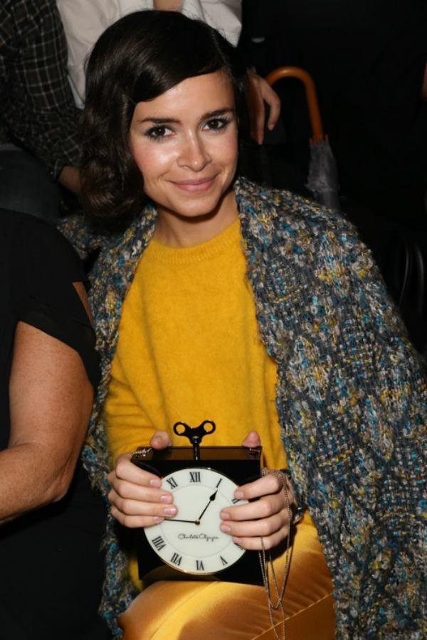 Miroslava Duma i vintidz Sarlot Olimpija Tajmpis ta�nica Nedelja mode u Parizu: Deset tašni poznatih ličnosti