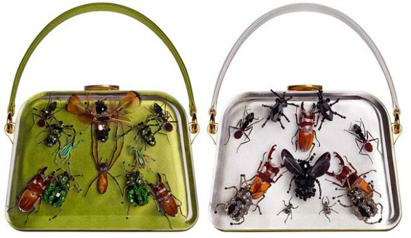 Neobične torbice se pronašle svoje kupce na tajnoj aukciji Modni zalogaj: Damien Hirst i brend Prada kreirali torbice