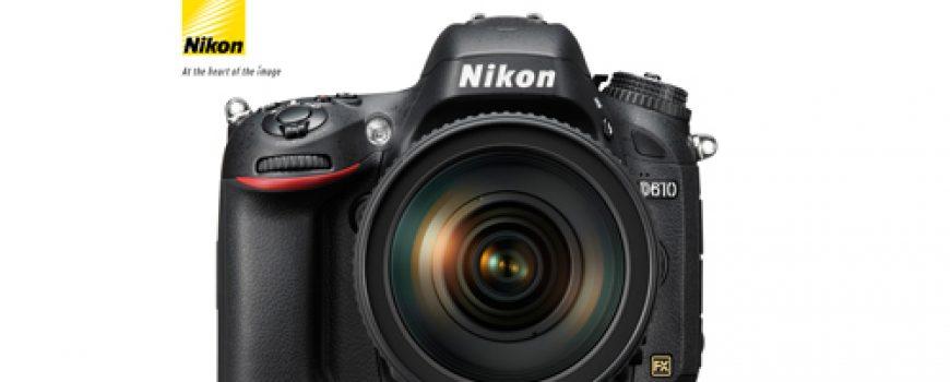 NIKON D610 – vrhunski fotoaparat punog formata