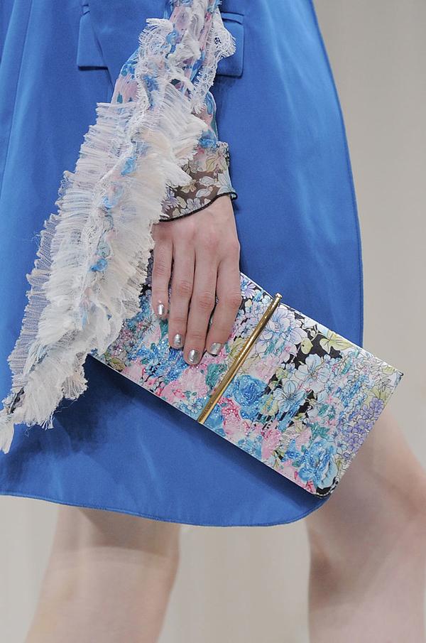 Nina Ricci Spring 2014 Nedelja mode u Parizu: Moderan manikir