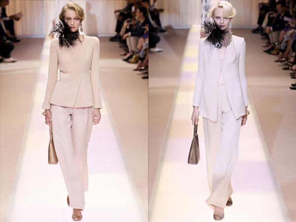 Pastelna odela slika2 Jesen na modnim pistama: Armani Prive