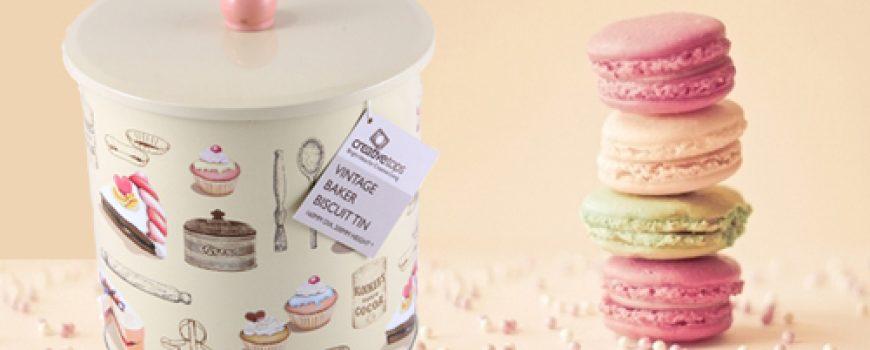 Retro posude za čuvanje slatkiša