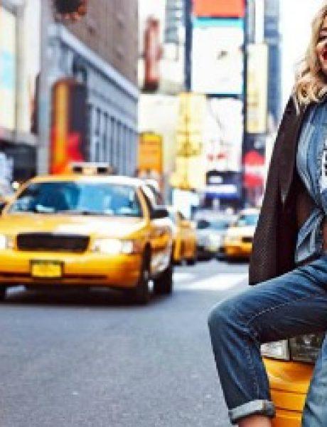 DKNY: Rita Ora na ulicama Njujorka