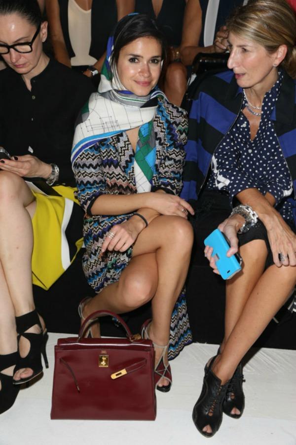 Ruskinja Miroslava Duma i Hermes Keli tasnica Nedelja mode u Parizu: Deset tašni poznatih ličnosti