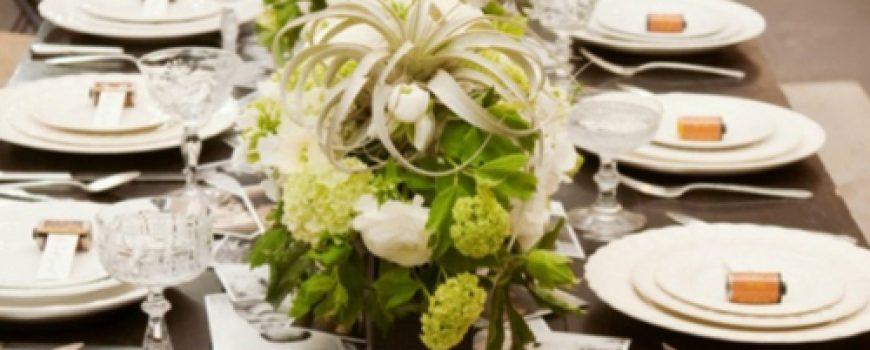 Wannabe Bride: Kolaž dekoracija stola