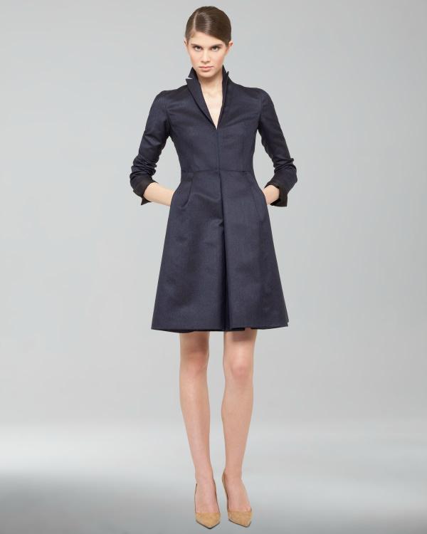 Tamnije Modne nedoumice: Haljina ili kaput?