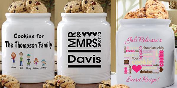 Tri tegle sa porukama Retro posude za čuvanje slatkiša