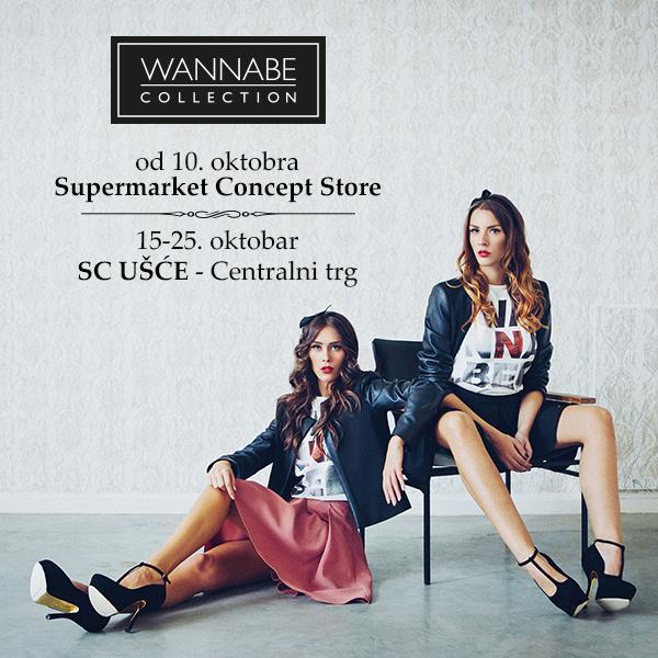 Usce Collection Naslovna 600 x 600 1 Wannabe Collection u Supermarket Concept Storeu i u SC Ušće
