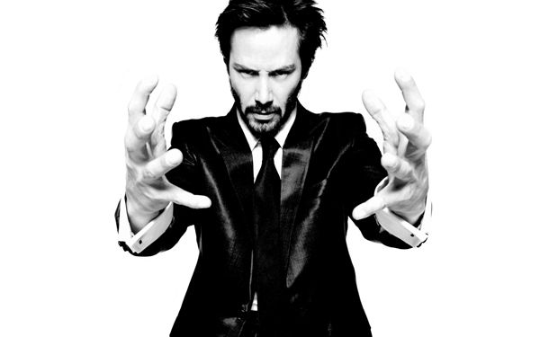 Wallpaper Keanu Reeves man actors hand black white 2 Kusanje prvobitne čorbe